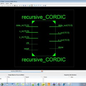 Implementation of Reconfigurable CORDIC