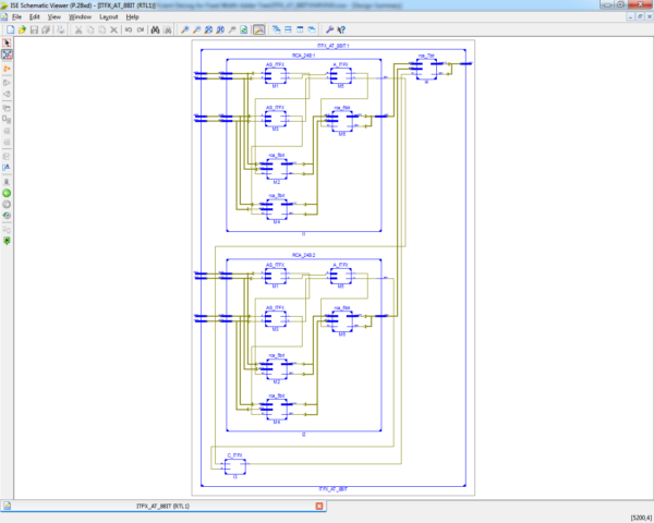 fixed-width adder-tree